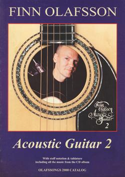 Finn Olafsson:<BR>\'Acoustic Guitar 2\' - Guitar TAB music book